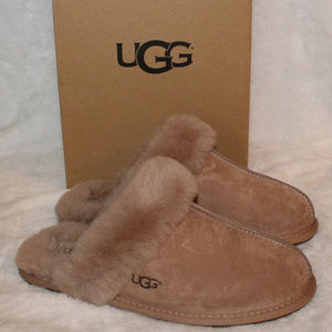 UGG SCUFFETTE II SUEDE WATER RESISTANT SLIPPERS